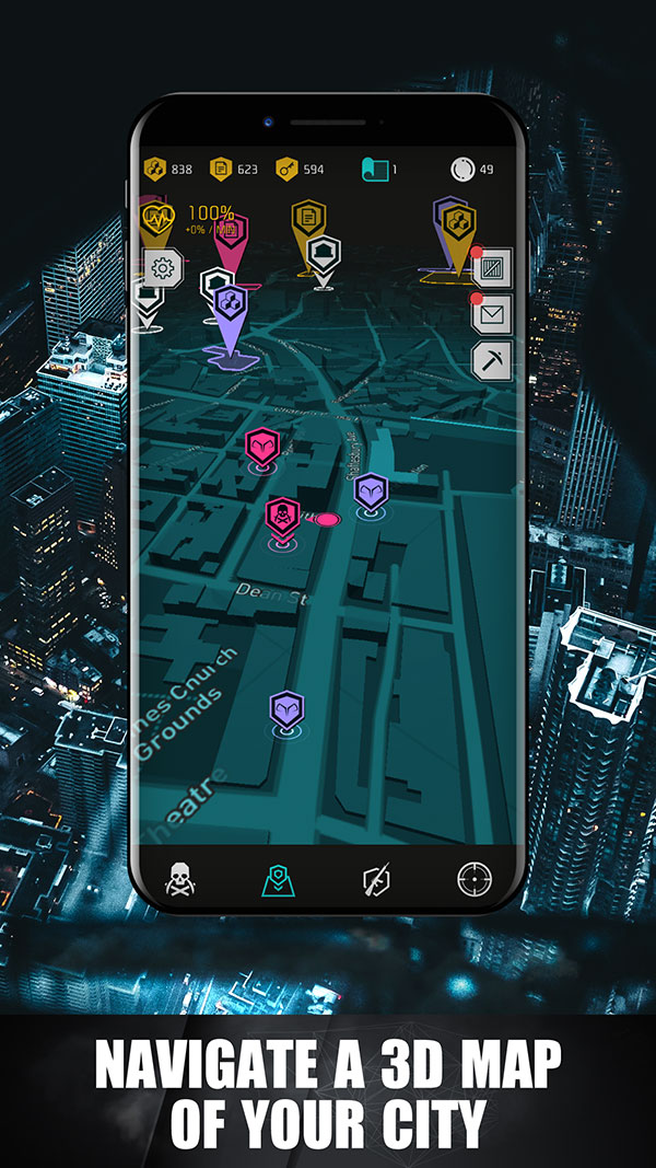 Navigate a 3D Map of your City