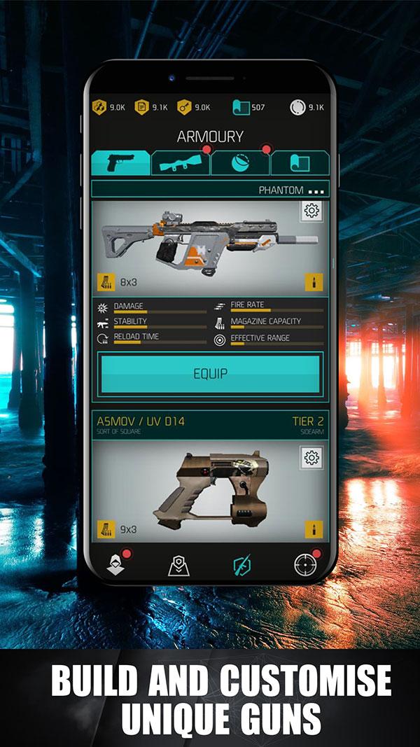Build & Customise Unique Guns