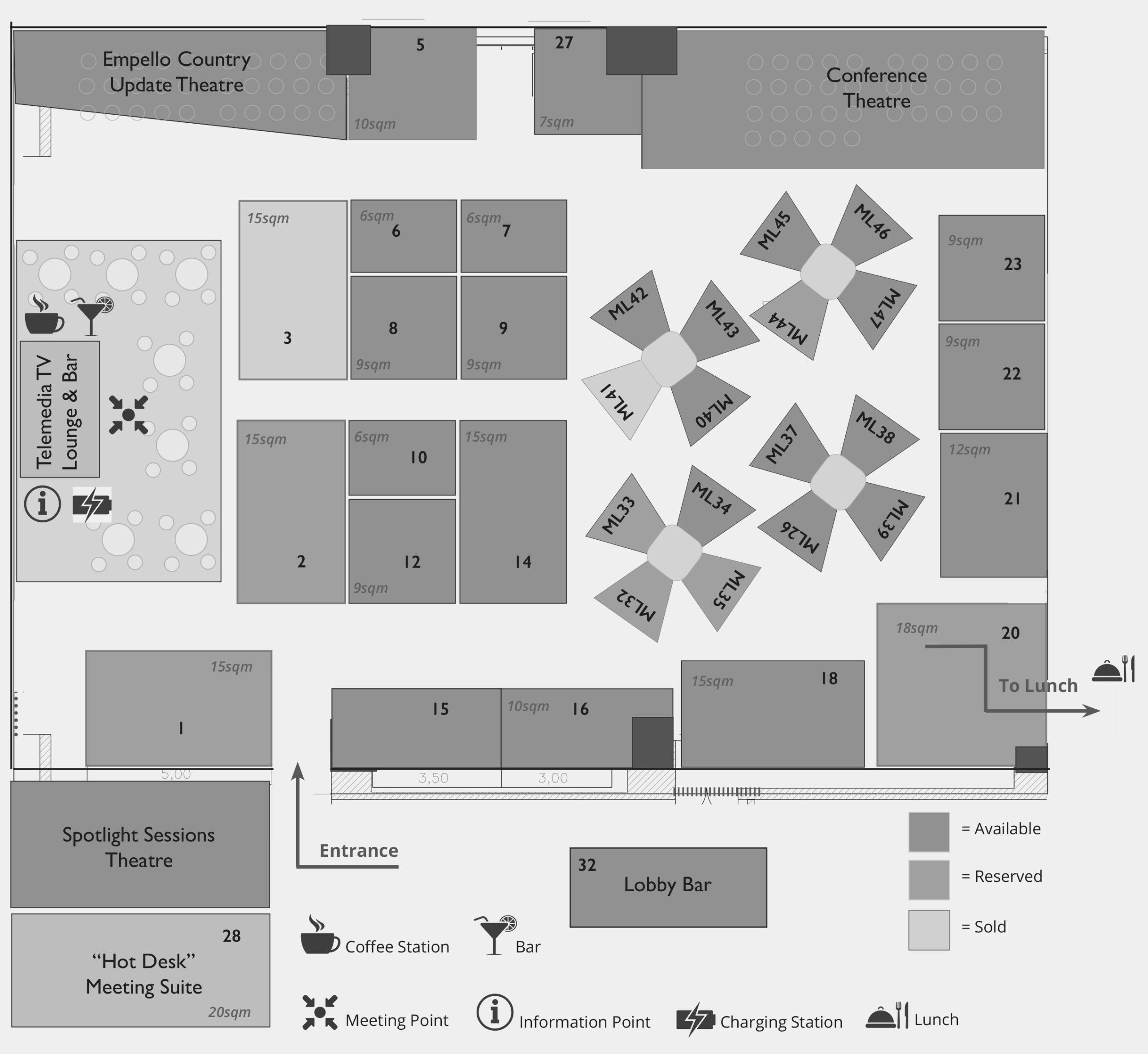 Detailed Floorplan WTM2020