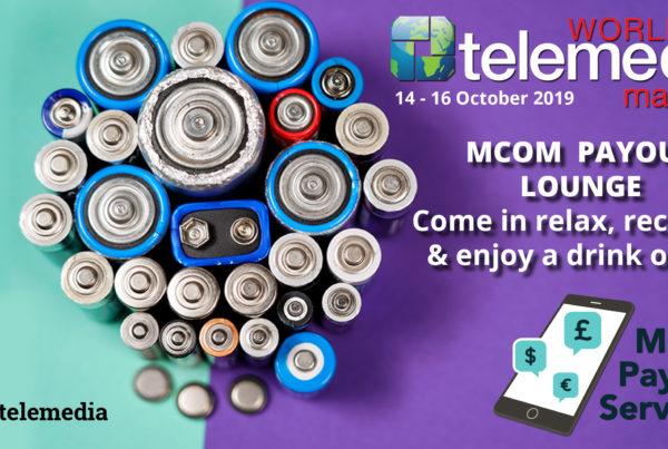 MCOM Lounge at World Telemedia