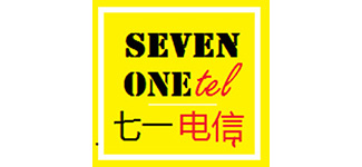 SEVEN ONE tel logo
