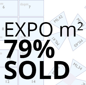 Expo almost sold out
