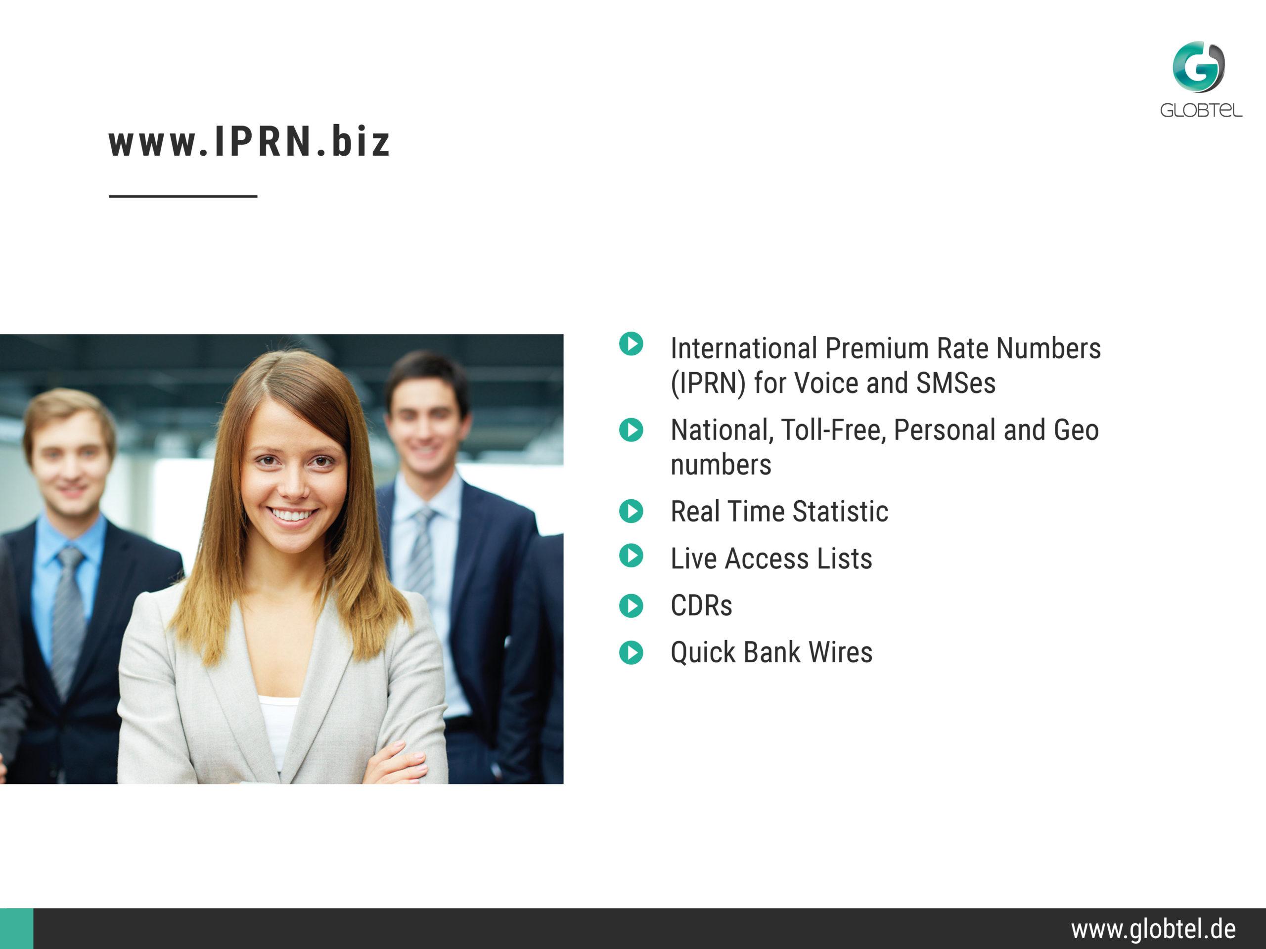 Globtel Presentation Slide 3