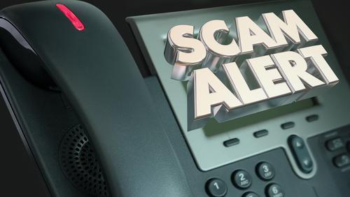 Telephone scam alert